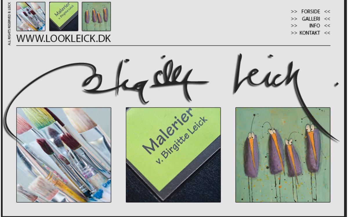 Kunstner Birgitte Leick