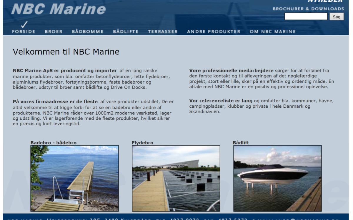 NBC Marine - producent og importør af marineprodukter