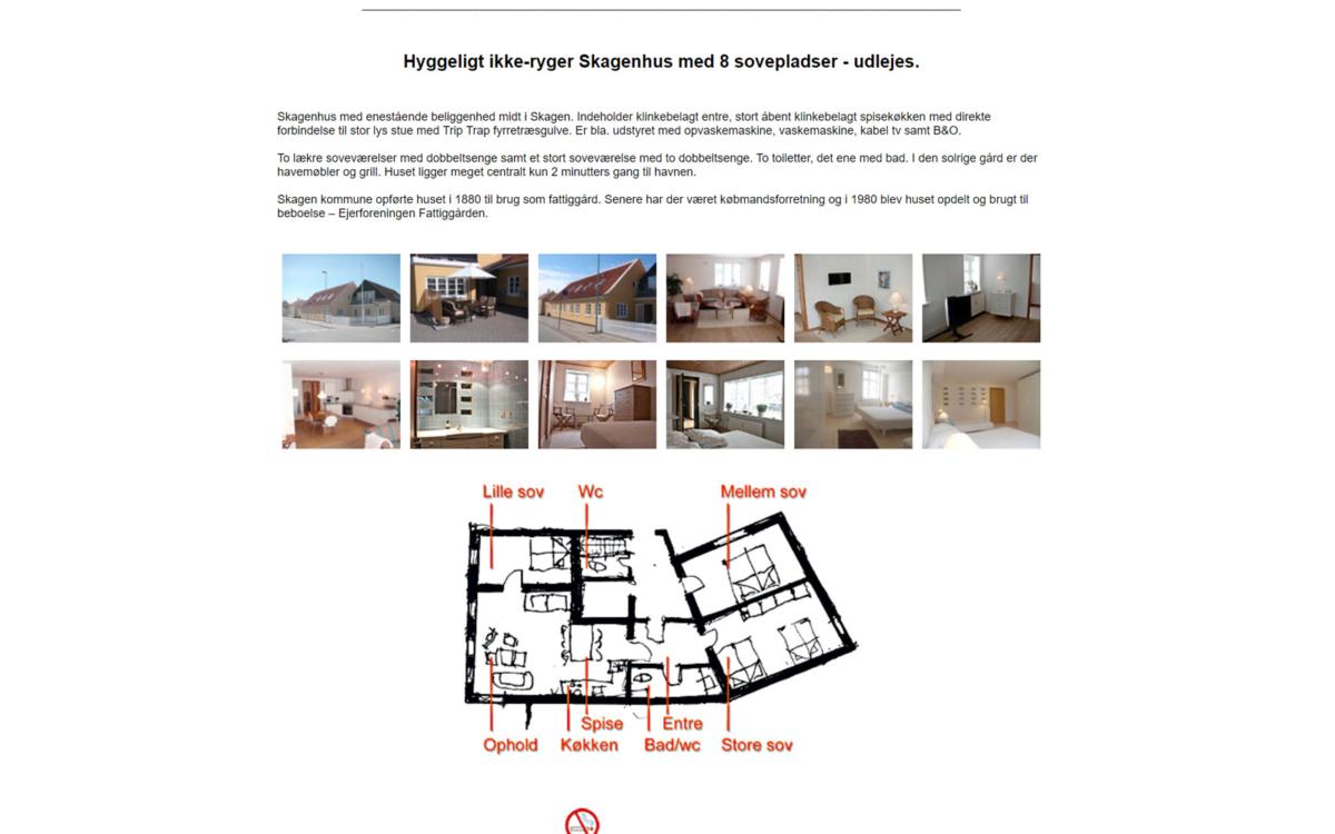 SkagenHouse - boligudlejning i Skagen