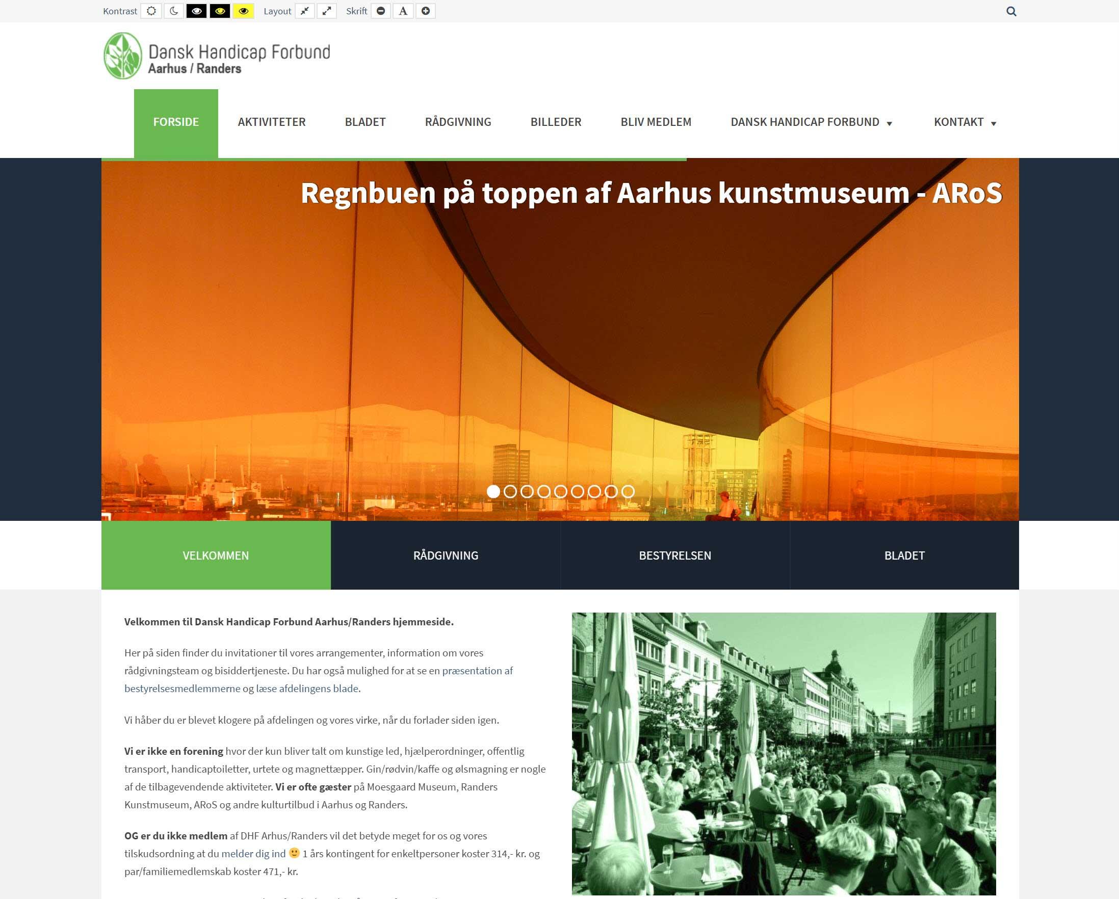 Dansk Handicap Forbund Aarhus/Randers | I samarbejde med MEDIE-GRAFIK