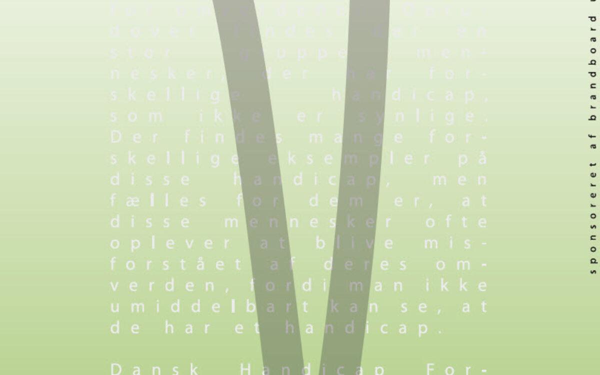 Popup-banner - Ikke Synligt Handicap