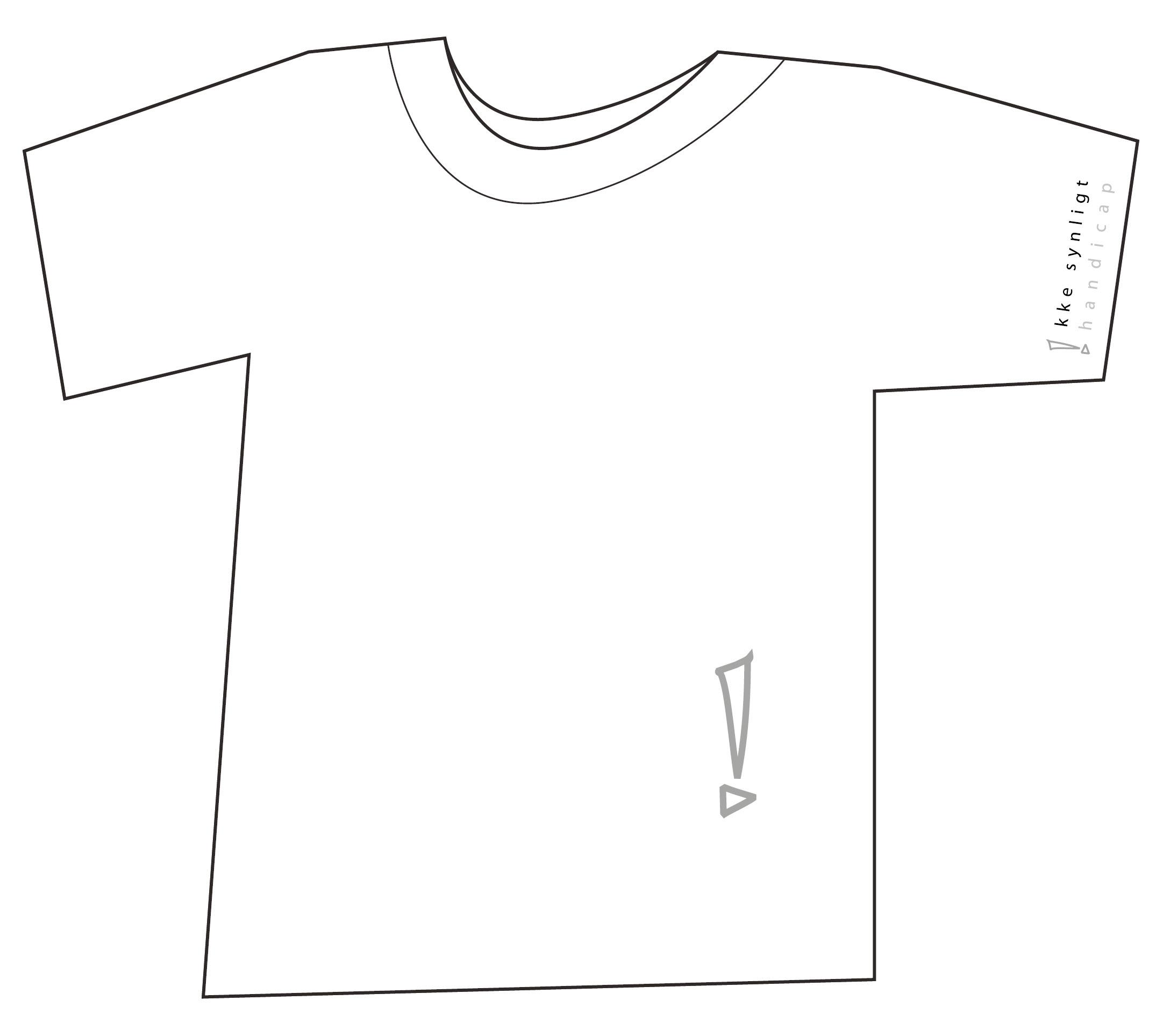 T-shirt - Ikke Synligt Handicap