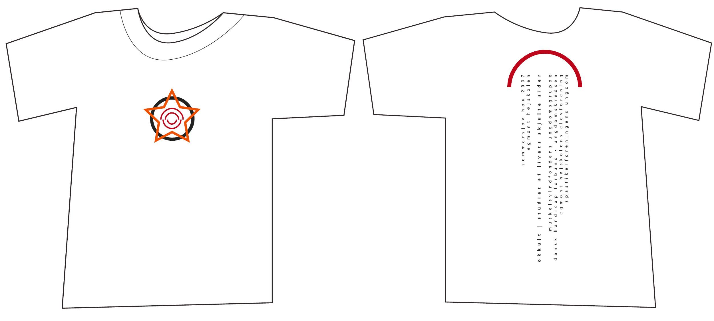 T-shirt - Sommersjov - Det okkulte